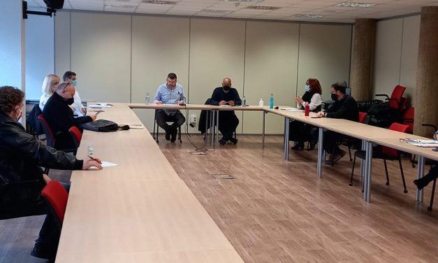 Reunión de la Coordinadora Estatal Aeroportuaria de UGT en seguridad privada y servicios auxiliares